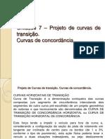 Projetos de curvas