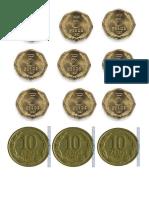 sistema de  monedas