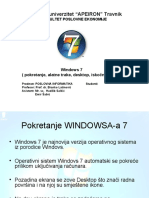 Prezentacija WINDOWS 7