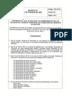 Decreto 026 Del 7 de Febrero de 2020 - Nombramiento CTP