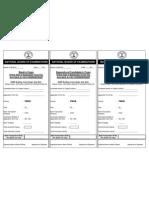 Chalan of Information Bulletin of Fmge