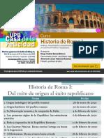 Sesión 8 El Helenismo y la transformación de la cultura romana