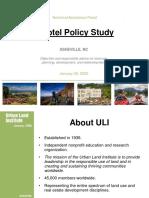 Hotel Policy Study