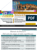 Programa general Historia de Roma 1 y 2