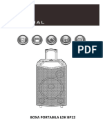 Manual Boxa Portabila LDK BP12