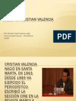 Perfil de Cristian Valencia