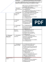6 .cruzamento entre campos e tópicos estabelecidos pela IGE para avaliação das escolas e os domíniossubdomínios do modelo de auto-avaliação da