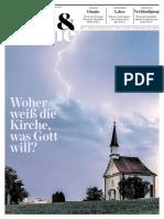 Die Tagespost 2019-11-28 - Welt & KIrche