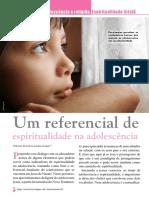 Espiritualidade e Adolescência.Revista Diálogo