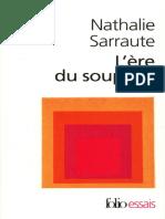 L'ère du soupçon by Sarraute Nathalie (z-lib.org)