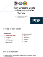 02 Cancer Pain Syndrome Due to Tumor  Invation and