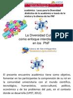 La Diversidad Cultural  como enfoque interdisciplinario en los  Programas Nacionales de Formación
