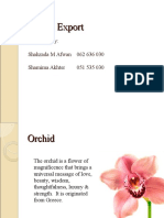 Orchid Export