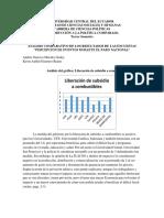 PERSECPCION DEL PARO NACIONAL.2019-ECUADOR