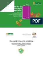 MANUAL DE CIUDADANÍA AMBIENTAL