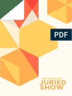 2014 SECAC Juried Show (Catalog)