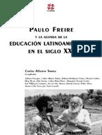Carlos Alberto Torres, Adriana Puiggrós - Paulo Freire y la agenda de la educación latinoamericana en el siglo XXI  -CLACSO (2001)