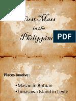 first mass report