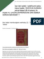 "Tafsir Ibnu Katsir_ Tafsir ayat ""istiwa"" _ Kenapa saya keluar dari salafy _ salafi_sunni palsu _wahaby_wahabi_darul hadits"
