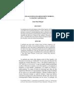 Cogito Agustiniano, reflexión tomista y Cogito Cartesiano