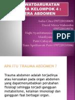 kel.4 gadar trauma cedera abdomen