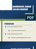 Teknik pembuatan layout PCB secara manual