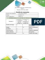 paso 1 Evaluación de Riesgos Ambientales