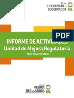 Informe de Actividades UMR