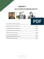 05 50 AÑOS DE GOBIERNOS DEL 1865 AL 1915