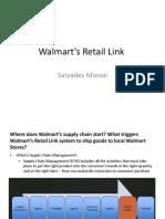 Walmart's Retail Link