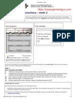 Perdisco Solution - Transactions - week 2