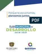 PMD MPIO QRO 2018-2021 Final Compressed