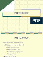 Hematology intro