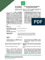 Perjanjian Kerjasama GrabFood Indonesia - signed