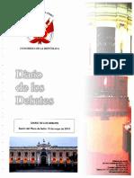 Sesión del Pleno del Congreso - 13 Mayo 2010 - Caso Collique Página 35 _ p51 Se Suspende El Debate de Este Tema