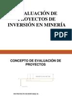 EVALUACIN DE PROYECTOS DE INVERSIN MINERA
