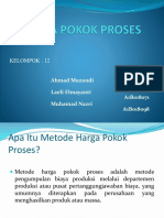 HARGA POKOK PROSES klp. 12