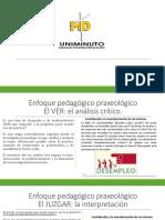 Diapositivas enfoque pedagógico praxeológico