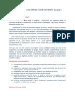 cercetare COOPERARE 2009, chestionar