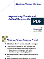 Medical Fitness Trends and CSFs for Website 10.6.06