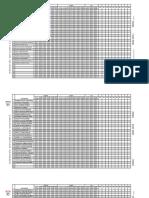 formato para control de asistencia y valoraciones