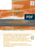 Citizens Report 2009
