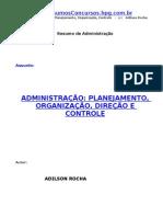 (Administração)Administração, planejamento, organização, direção e controle