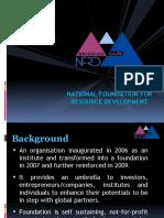 NFRD-Presentation - 5 Dec 2010