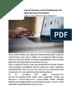 Manfaatkan Payment Gateway untuk Pembayaran Era Digital Bersama Prismalink