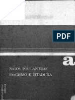 Nicos Poulantzas. Fascismo e Ditadura - A III Internacional Face Ao Fascismo - Volume II
