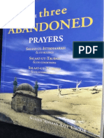 The Three Abandoned Prayers by Shaykh Adnaan Aali Uroor