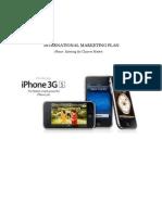 iPhone 3GS International Marketing Plan China