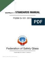 Quality standard manual - FOSG