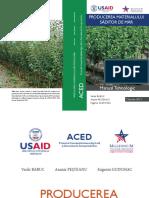 ACED Manual - Producerea Materialului Saditor de Mar